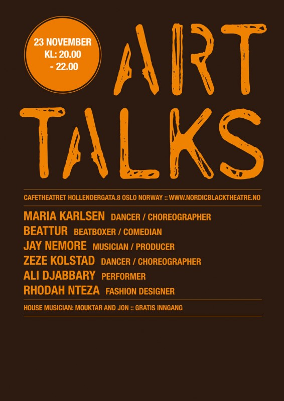 Arttalks – 23. november