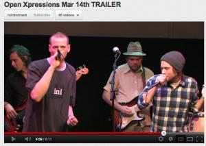 Open Xpressions mars 14. 2012