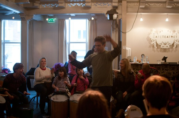 Samba-Reggae Drum Workshops