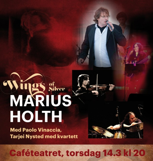 Konsert: Marius Holth «Wings of Silver»