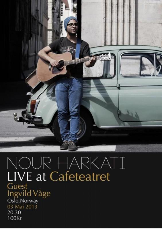 nour_harkati_konsert_cafeteatret
