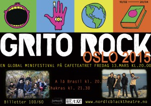 Grito Rock poster flyer