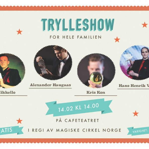 Trylleshow cafeteater 2016