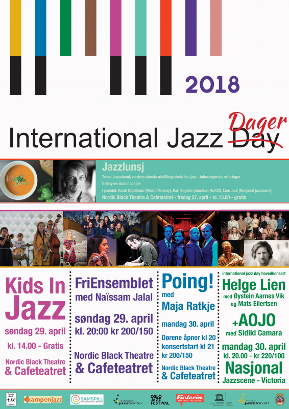 international jazz dager 2018 print