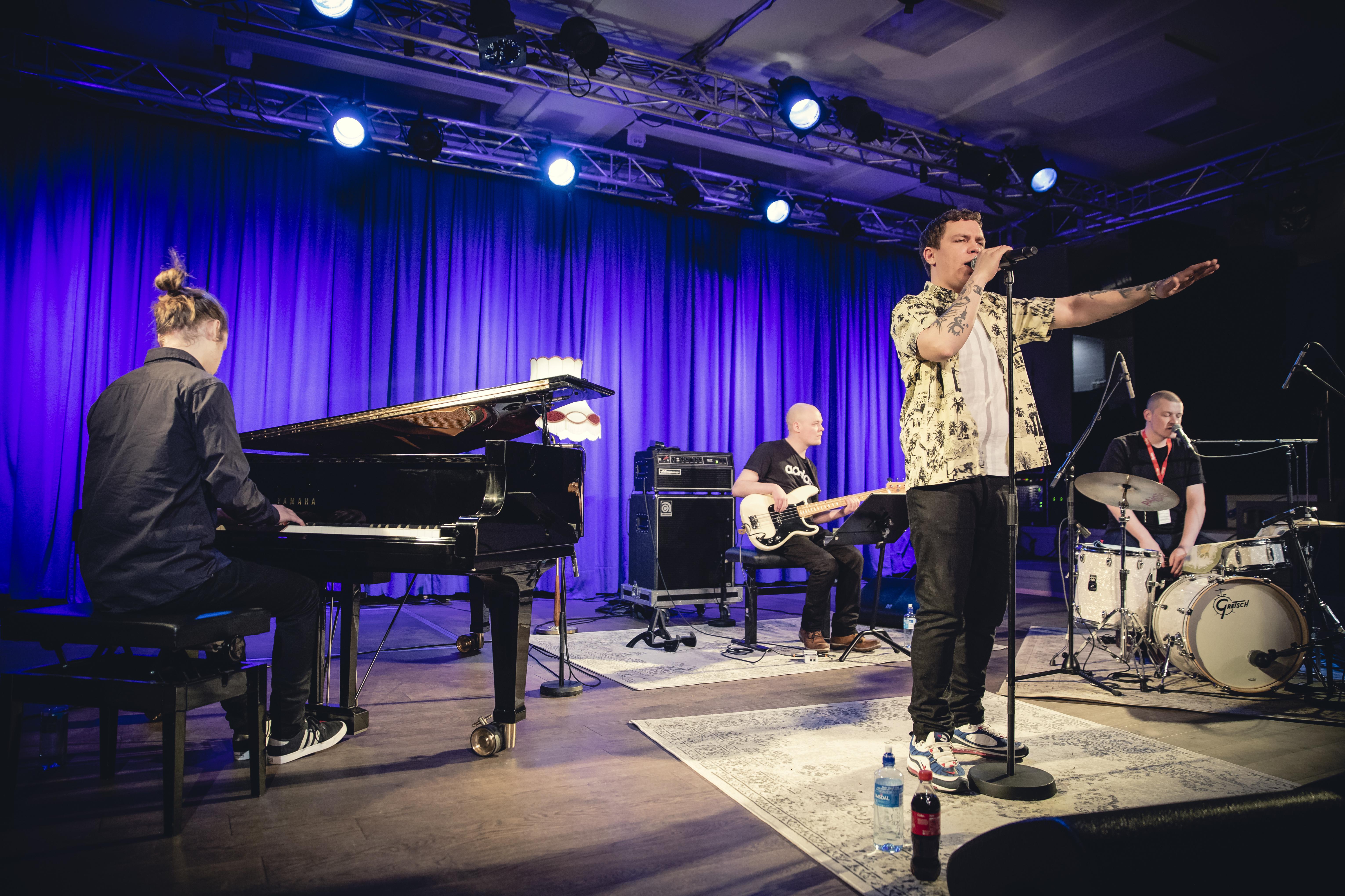 Klish Akustisk. Foto: Marius Fiskum / Nordlysfestivalen
